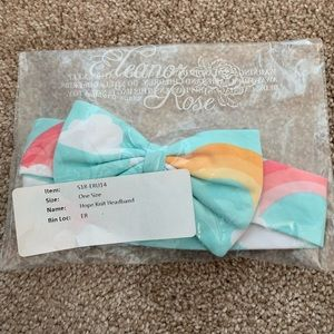 Eleanor Rose Accessories - Eleanor Rose Rainbow Hope Headband